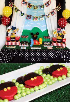 Mickey Mouse Clubhouse fiesta de cumpleaños