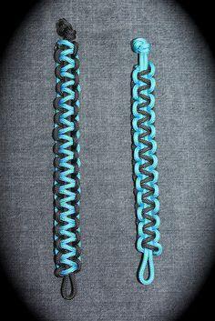 Paracord Survival Bracelet Tutorial -- http://takingtimetosmellthelillies.blogspot.com/2012/06/paracord-survival-bracelet-tutorial.html