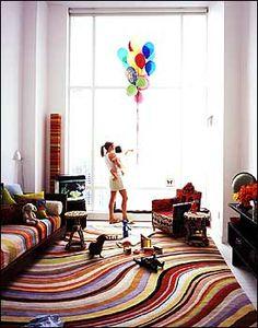 Beautiful baby's room. (Via NYMag)