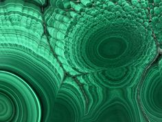 Malachite - Gorgeous soft green gemstone . Supposedly this can be somewhat dangerous to cut, so leave the lapidary on this to the professionals.