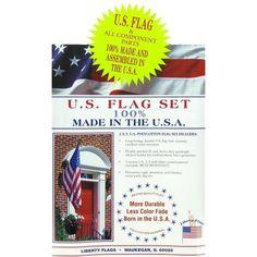 3' x 5' U.S.A. Flag Set $9.99