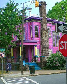 The Purple House in Savannah