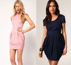 короткое-платье tulip skirt, skirt dress