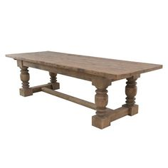 bleach pine, dining rooms, dine room, dine tabl, dining room tables