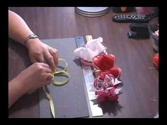 Make A Surrounding Loop For Your Hair Bow by www.hair-hardware.com - YouTube