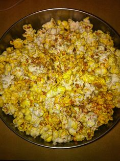 firehouse popcorn! jalapeno peppers, cumin, tumeric and cayenne pepper