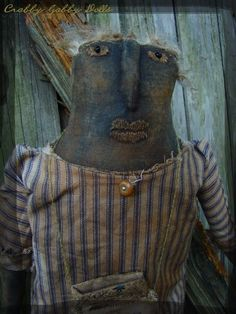 Primitive doll @ Crabby Gabby