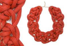 chunky rope necklaces