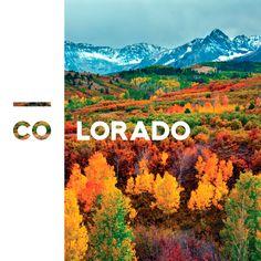 graphic design, colorado ident, thing autumn, photo credit, design inspir