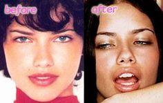 Adriana Lima Lips