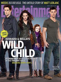 First Glimpse At Renesmee in THE TWILIGHT SAGA: BREAKING DAWN – PART 2 #Twilight #BreakingDawn #BD2 break dawn, cant wait, breakingdawn, kristen stewart, jackets, twilight saga, breaking dawn, magazin, wild child