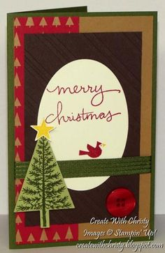 Festival of Trees Mojo by StampinChristy - Cards and Paper Crafts at Splitcoaststampers