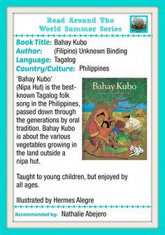 Tagalog book: Bahay Kubo (Nipa Hut)