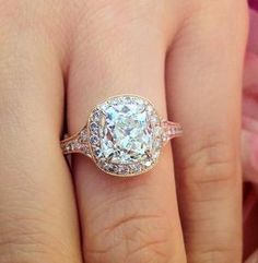 Good luck #engagement #ring emeralds, dreams, diamonds, engagements, roses, engag ring, luck engag, engagement rings