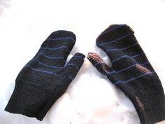 Quick & easy mittens