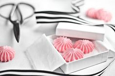 Cotton candy meringues. Sounds like heaven!