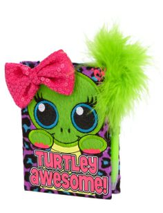 Mini Plush Turtle Diary | Girls Journals & Writing Room, Tech & Toys | Shop Justice