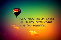 New beginnings <3 stori, life, a new beginning, inspir quot, quotes, wisdom, motiv inspir, new beginnings, live