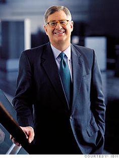 Sam Palmisano, former CEO of IBM.