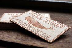 #Business #Card #creative #Inspiration #wooden #design #art #unique #brand #identity