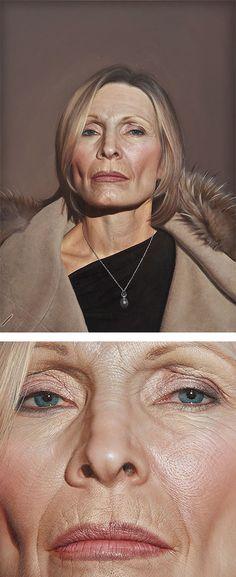 Hyper-Realistic Paintings by Bryan Drury