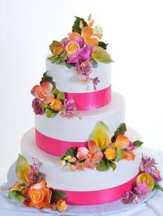 spring bouquet, quinceanera cake, las vega, wedding cakes, decorated cakes, ideal cake