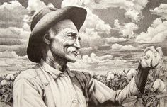 Gonna Be a Good Year by Joe Belt  Limited edition print from an original pencil drawing.