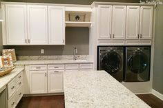 laundry room with to