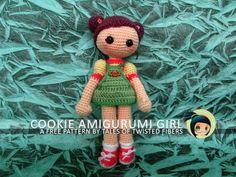 COOKIE AMIGURUMI GIRL FREE PATTERN