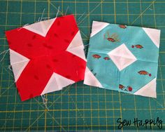 Sew Happily   quilt pattern tutorial  http://pinsandbobbins.blogspot.com/2014/06/a-quilt-for-aneela.html