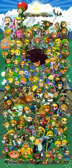 Links and The Legends of Zelda