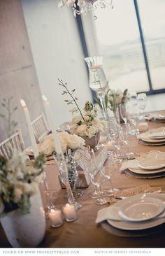 Classic Shades of White Table Decor. Photo: Jeanine Groenewald.