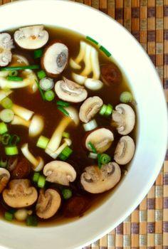 healthy asian soup recipes, miso soup recipe