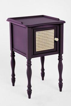 nightstand purple