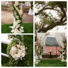 Wedding Altar I Hoste Events I #ceremony #decor #wedding