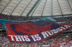 Quite impressive, but utterly offensive by the Russians as they faced the Polish team.