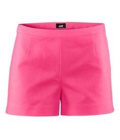 H Shorts in Raspberry Red