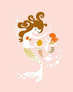 Mermaid room would be cute for B!