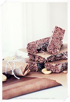... amaranth muesli granola bars ...