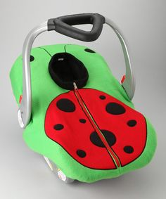 Take a look at this Madeline and Company Ladybug Fleece Car Seat Cover by Let It Snow: Bundled Up Baby on #zulily today!