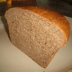100 Percent Whole Wheat Bread - rather long list of ingredients but worth trying