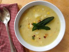 A healthier take on Sweet Corn Chowder