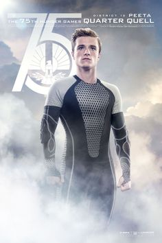 Catch Your Breath: The New 'Hunger Games: Catching Fire' Posters Are Here!: Josh Hutcherson as Peeta Mellark