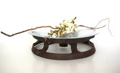 wagon wheels, pedest cake, cake stands, cake servings, rustic cake