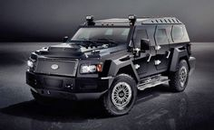 Conquest vehicles reveals the evade, its new, gigantic unarmored SUV - Yahoo! Autos