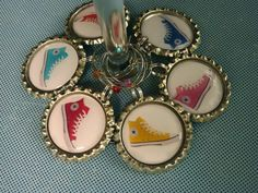 chuck T wine charms