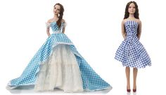 Reem Acra and Chris Benz-designed Dorothy dolls