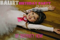 Budget Ballet Party from Serentiy Now