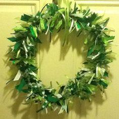St. Pat's wreath...