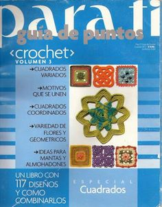 Guía de puntos y cuadrados  https://picasaweb.google.com/melina.crochet/ParaTiGuiaDePuntosCrochet3